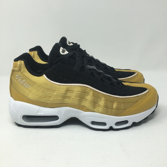 224bea0fc4 Nike Shoes | Air Max 95 Lx Gold Black Womens My41 | Poshmark